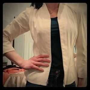Narciso Rodriguez Cream blazer jacket